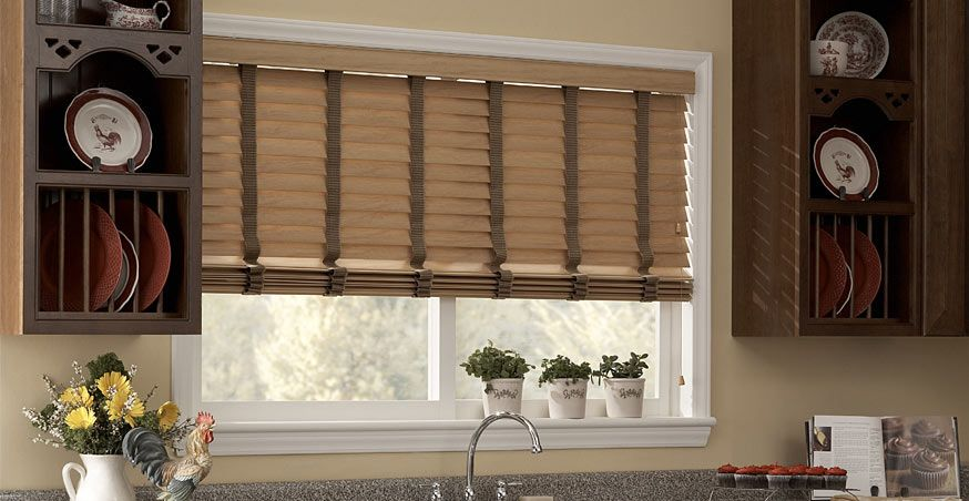 2 maple faux wood blinds for your kitchen faux wood