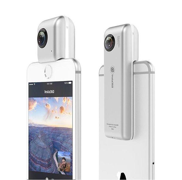 Insta360 Nano Dual Lens Camera for iPhone -- Insta360 Nano Dual Lens Camera for…
