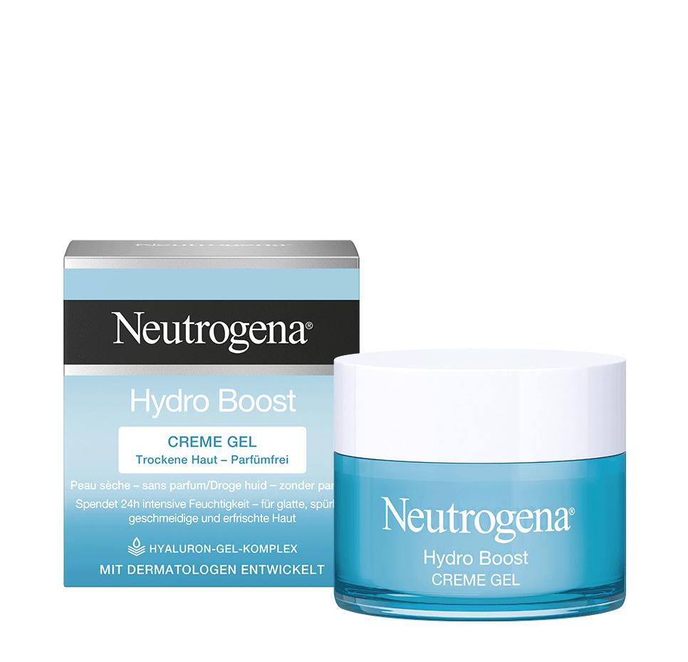 Hydro Boost Creme Gel Creme Hydratante Pour Peaux Seches Aussi Legere Qu Un Gel Sans Huile N Obstrue Pas Les Pores Voir M Droge Huid Gezonde Huid Huid