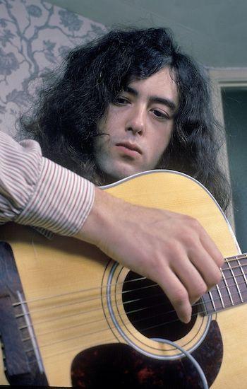 Jimmy Page Acoustic Led Zeppelin Zeppelin Led Zepplin