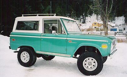 Ford Bronco Aesthetic Offroad And Motocross