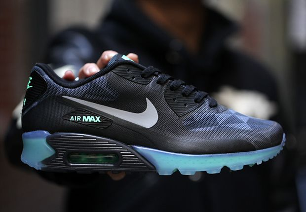 nike air max 90 ice black anthracite color