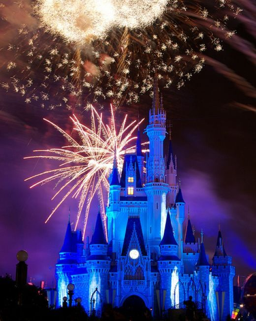 Disney World really is the happiest place on earth. No matter what age you are!