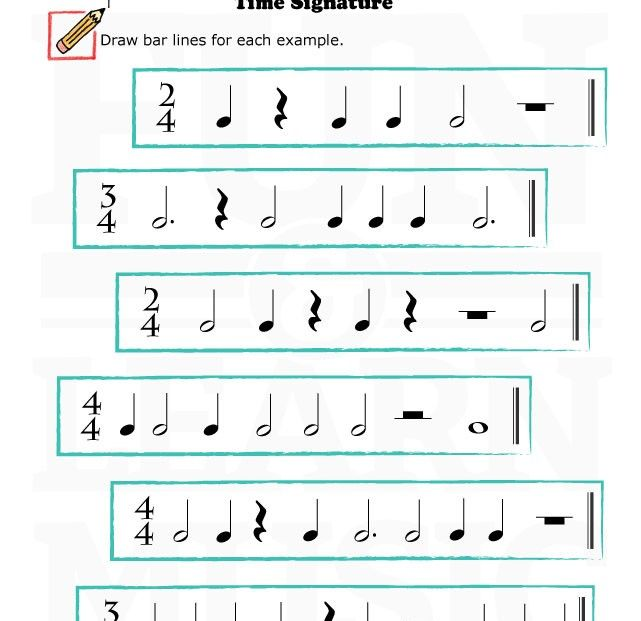 Printables Time Signature Worksheet 1000 images about time signature on pinterest free printable printables and piano