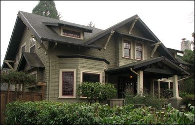 Craftsman Style — 1900 to 1930
