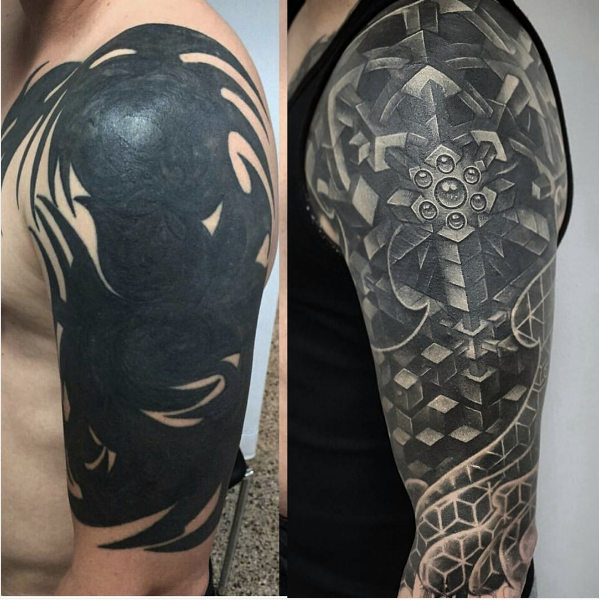 Tags cover up tattoo half sleeve tattoo tattoo cover up