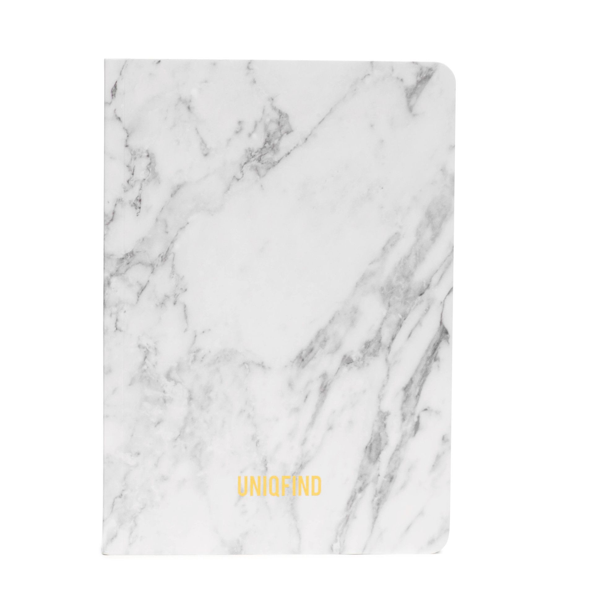 White Marble Notebook | Marbles, Free paper and Journal