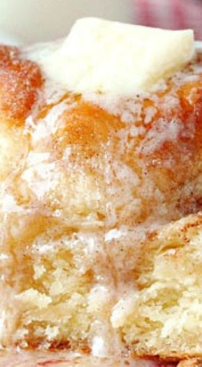 Snickerdoodle Skillet Biscuits #butterswimbiscuits