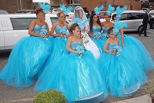 My Big Fat Gypsy Valentine Pictures   Gipsy wedding, Gypsy wedding ...