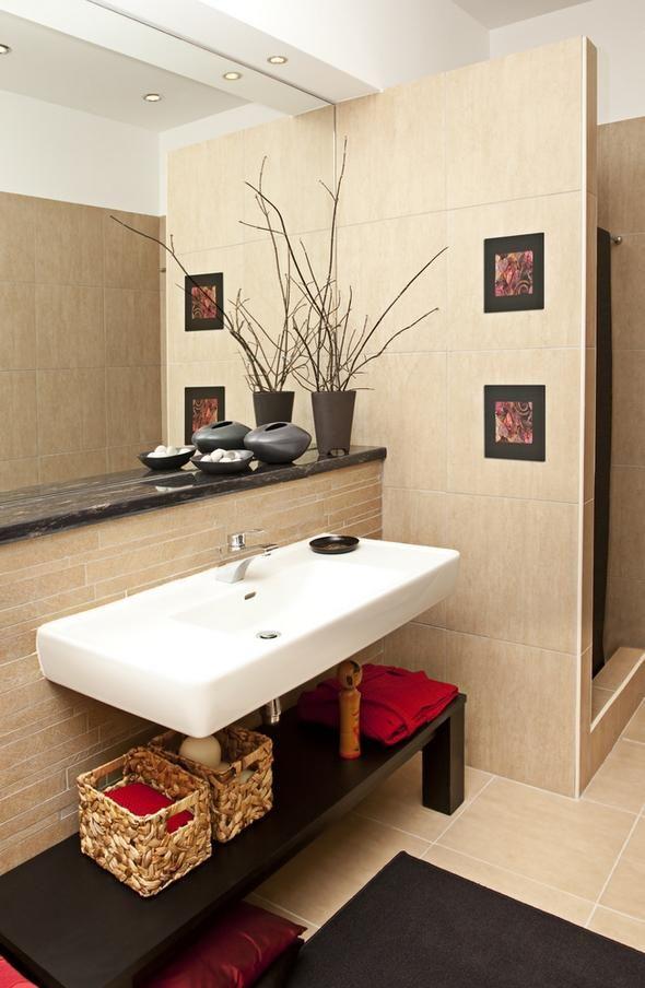 Ideas para organizar baños pequeños baños Pinterest Baño - modelos de baos
