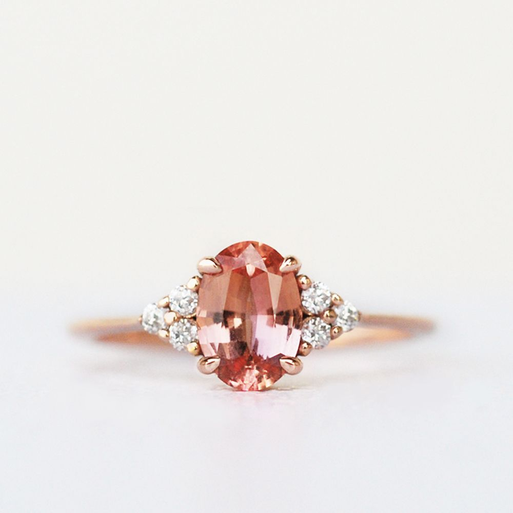 Gia Certified Padparadscha Sapphire Ring Unique Engagement Ring Rare Gemstone Ring Unheated Natural Padparadscha Sapphire In 2020 Pink Sapphire Ring Engagement Vintage Engagement Rings Sapphire Peach Sapphire Engagement Ring,Modern White Kitchen Cabinets With Grey Countertops
