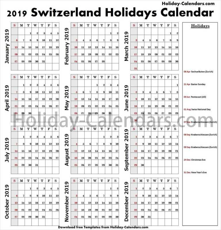 Pin On Holiday Calendar 2019