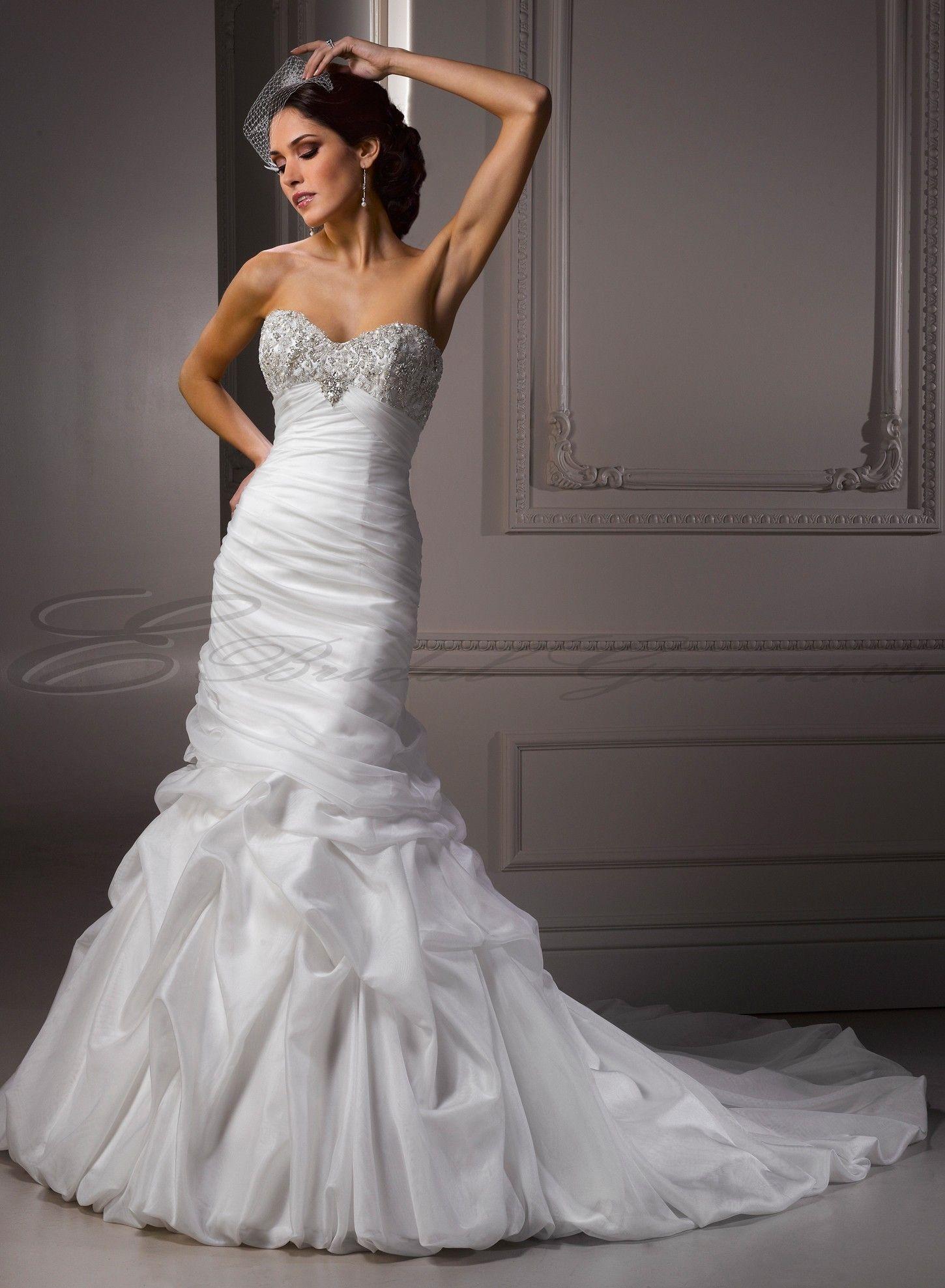 wedding dress organza mermaid - http://69hdwallpapers.com/wedding ...