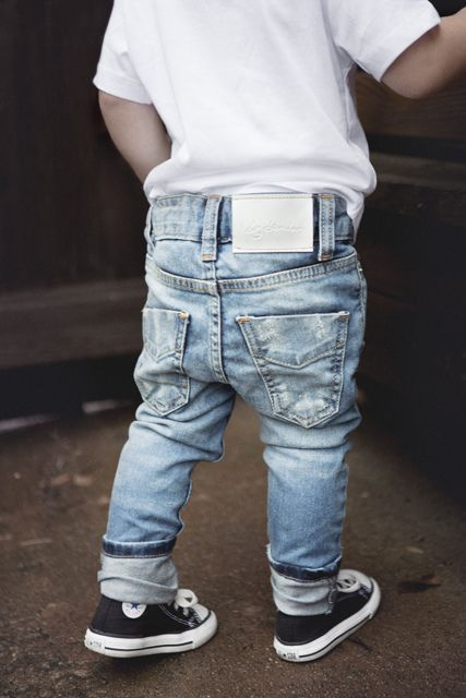 I can so see my nephew dressed like this. who am i kidding i buying him this outfit lol jeans | converse | kids style: My kid would die if I put him in these pants :)