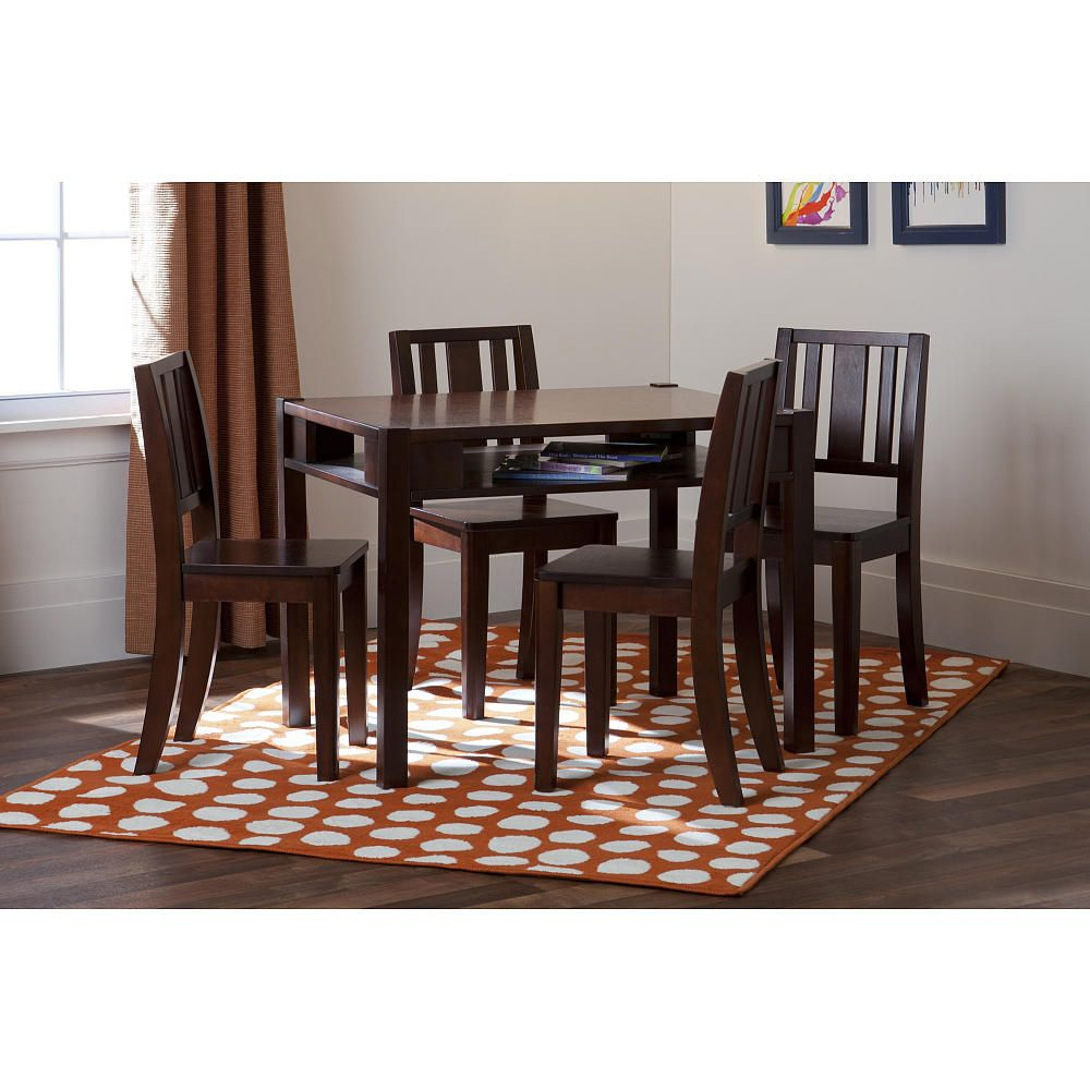 Solutions By Kids R Us Storage Table And 4 Chairs