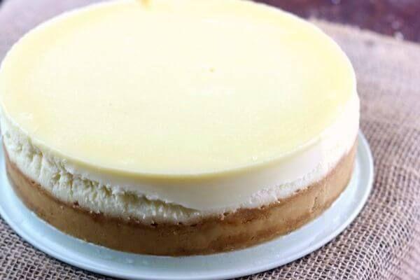 Plain Cheesecake Recipe No Fail Ny Style Recipe Plain Cheesecake Basic Cheesecake Recipe Cheesecake Recipes