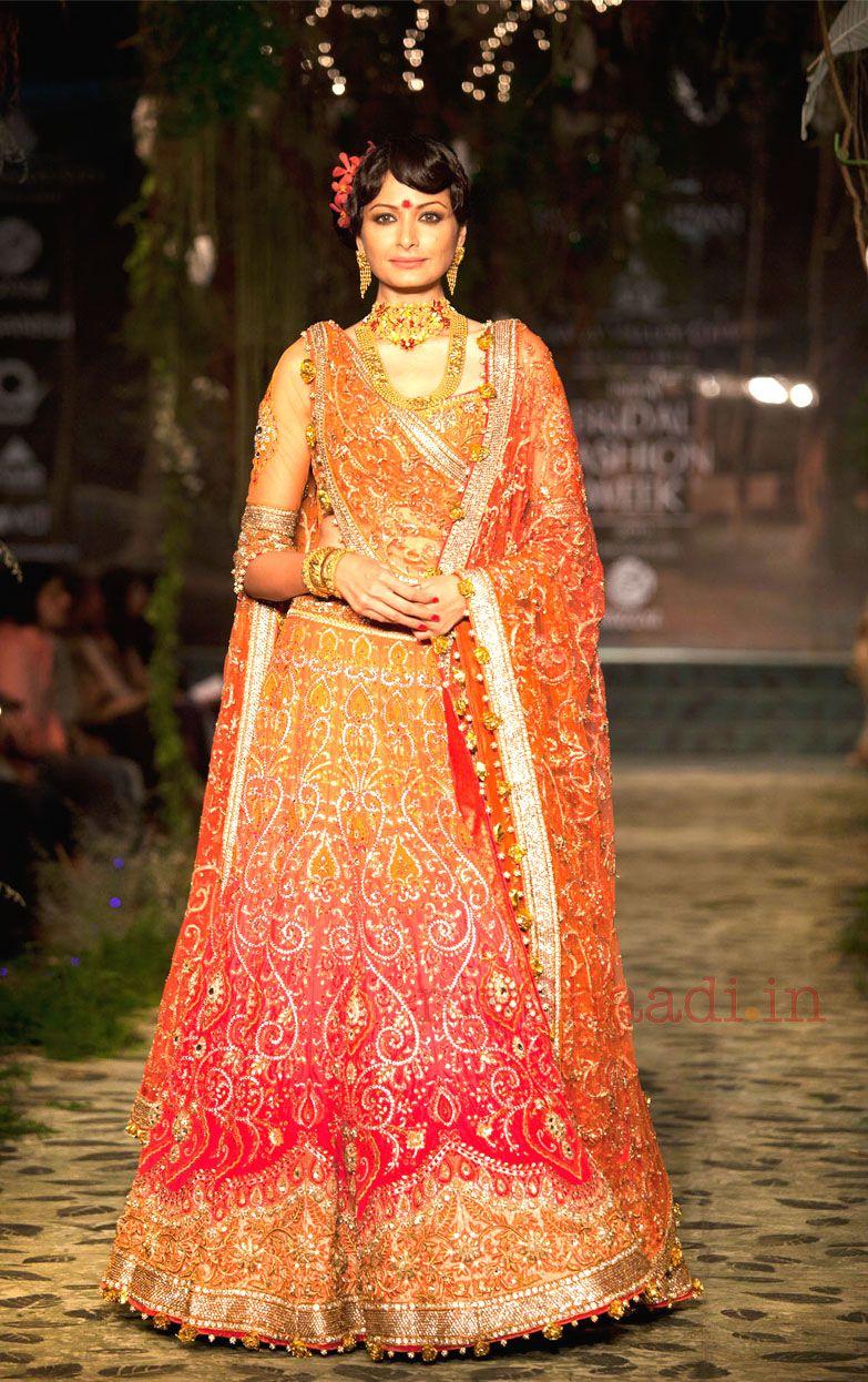 Indian Bridal Wear,Tarun Tahiliani | Myshaadi.in | Indian ...