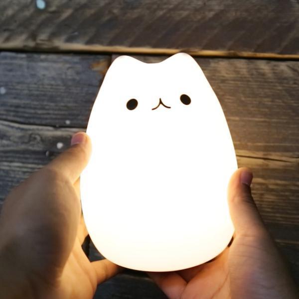 Cute kitty night lamp