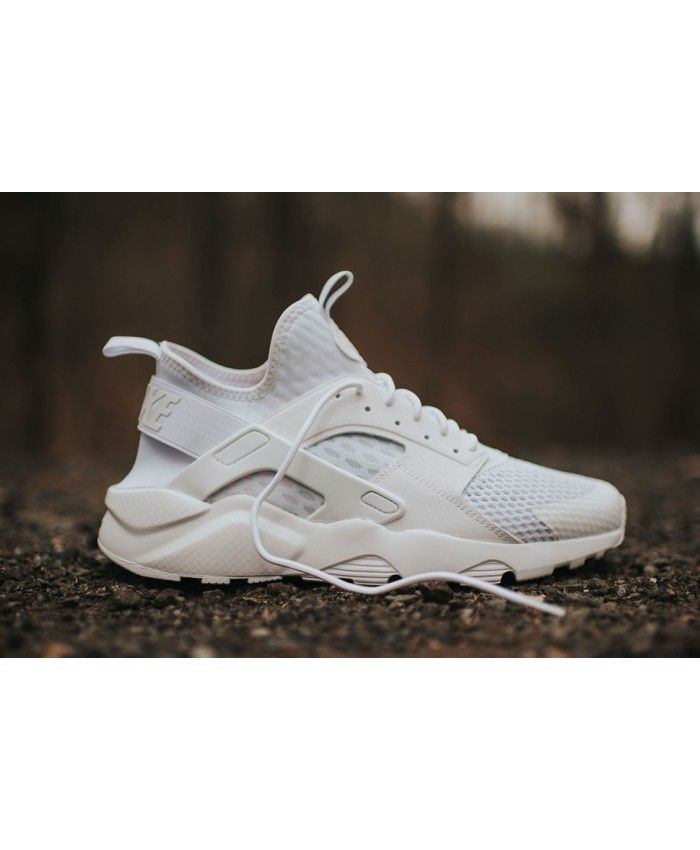 14fbaf82c Nike Air Huarache Ultra Breathe Triple White Trainer
