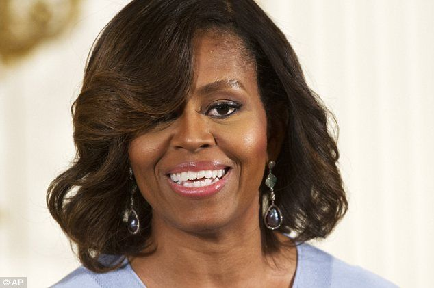 The first lady will make her first solo radio address, an unusual - michelle obama resume