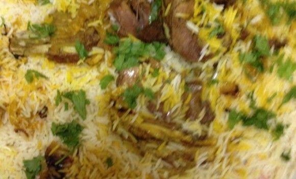 الرز المدفون Food Arabic Food Mediterranean