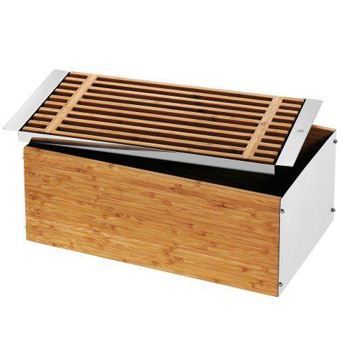 Wmf 0634466040 Brotkasten Amazon De Kuche Haushalt Brotkasten Brotkasten Holz Kasten