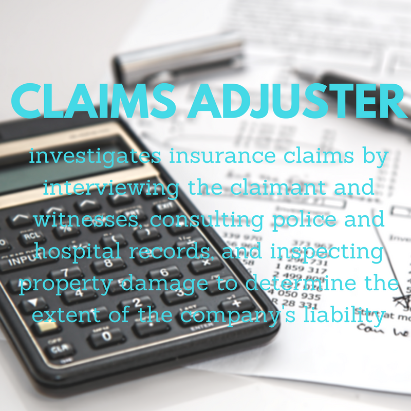 Word Of The Week Claims Adjuster It S A Personal Injury Attorney S
