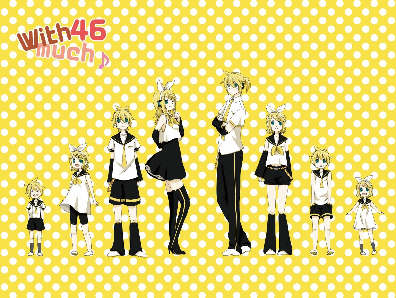 Rin and Len age chart | Awesome People/Characters ...Vocaloid Kaito Age