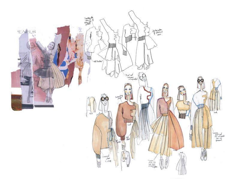 Fashion Design Ideas sketches fashion design Fashion Sketchbook Graduate Collection Fashion Design Development Fashion Sketches Fashion Portfolio