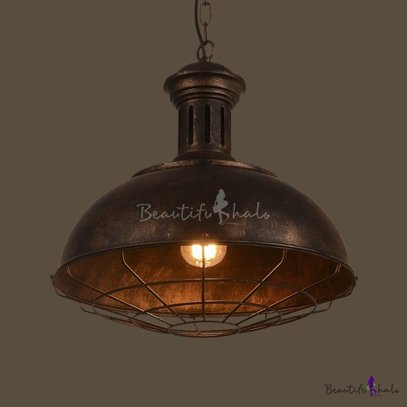 15 Wide Neo Industrial 1 Light Full Sized Led Pendant Industrial Pendant Lights Rustic Lamp Shades Small Lamp Shades