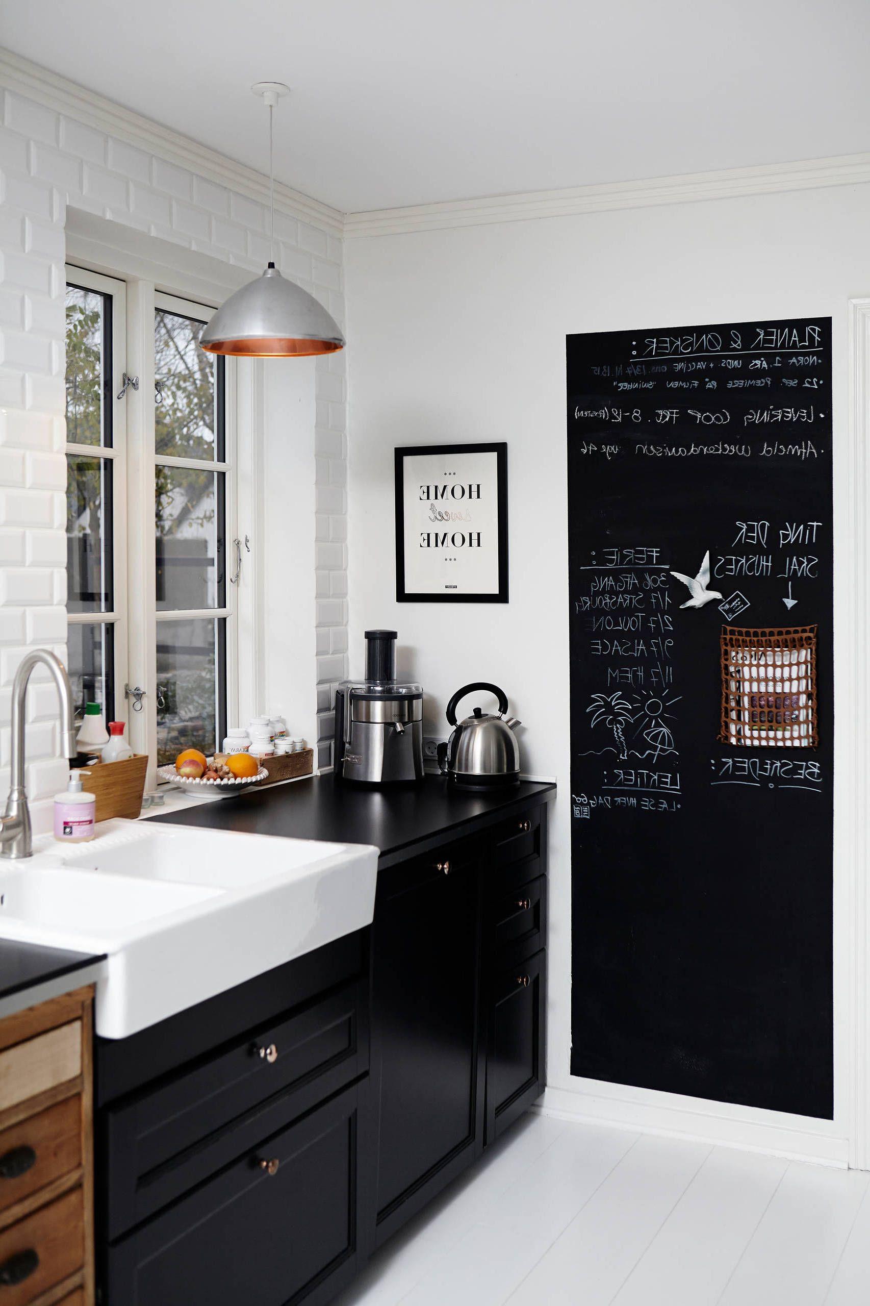 kreidetafel küche  praktische und stilvolle entscheidung