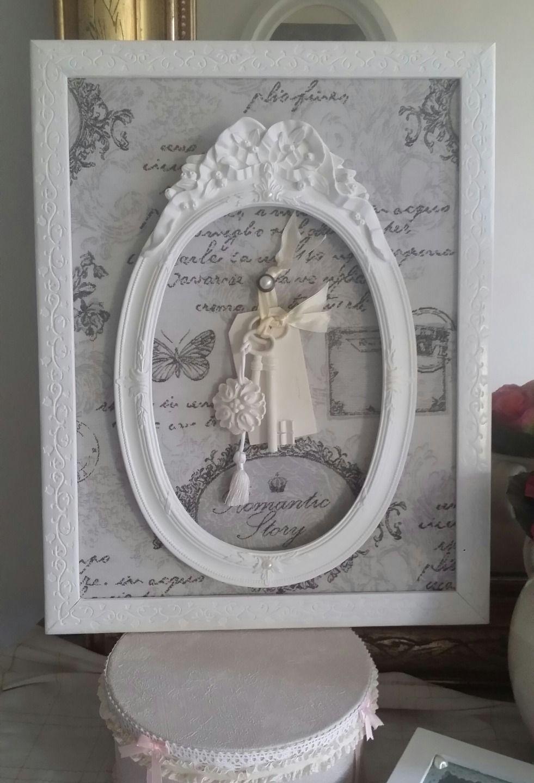Stunning tableau trs shabby chic pour votre chambre pour - Tableau pour chambre romantique ...