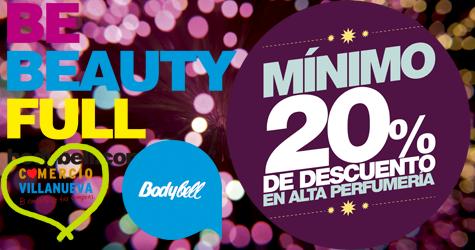 Bodybell Villanueva de la Serena 20% de descuento en alta perfumería ¡¡ #comerciovva