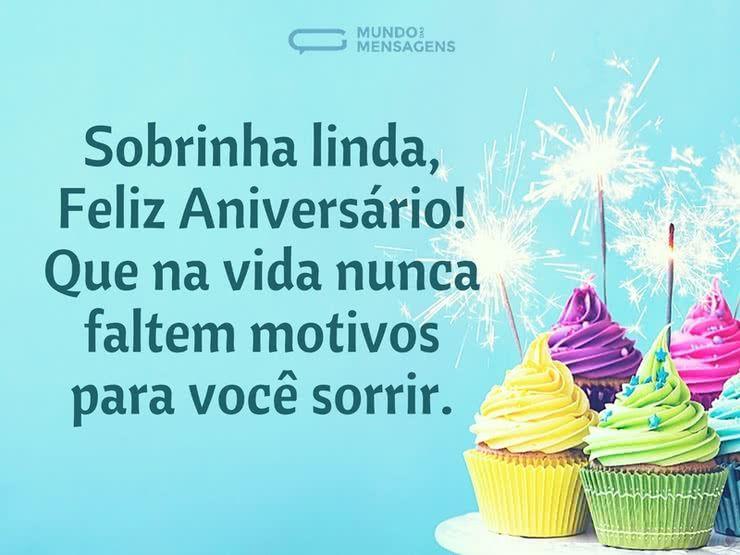 Frases Para Aniversário De Sobrinha Celular Whatsapp: Pin By Borboleta Ventania On Mensagem Aniversário!
