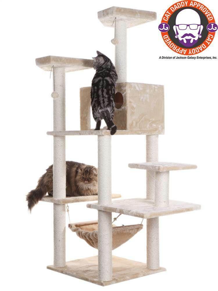 Classic Cat Tree w Hammock ID 67941 18016