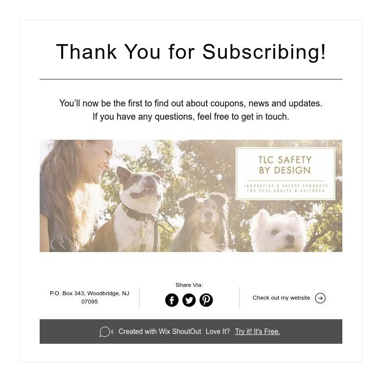 Thank You for Subscribing! How to find out, Subscribe