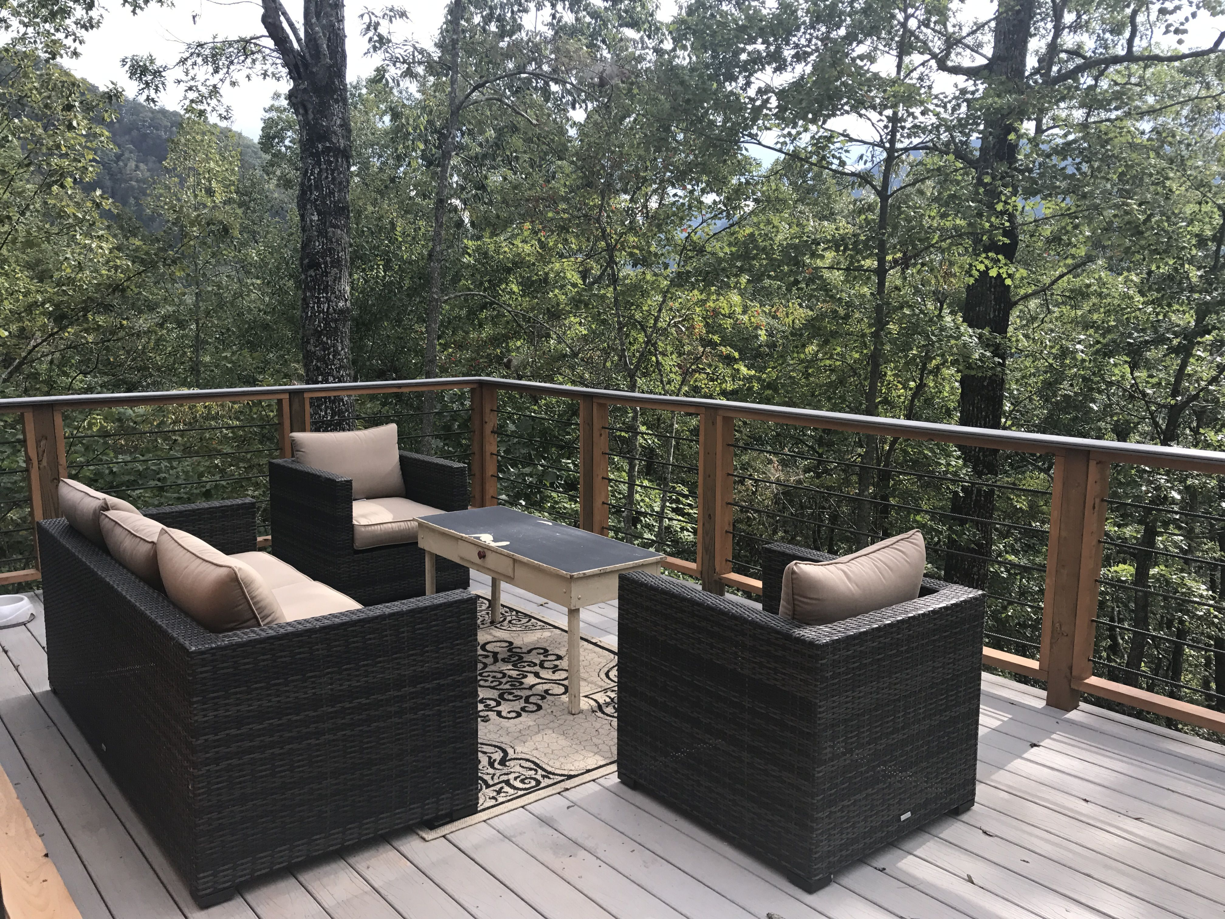 A few of the back deck at the appalachian mountain