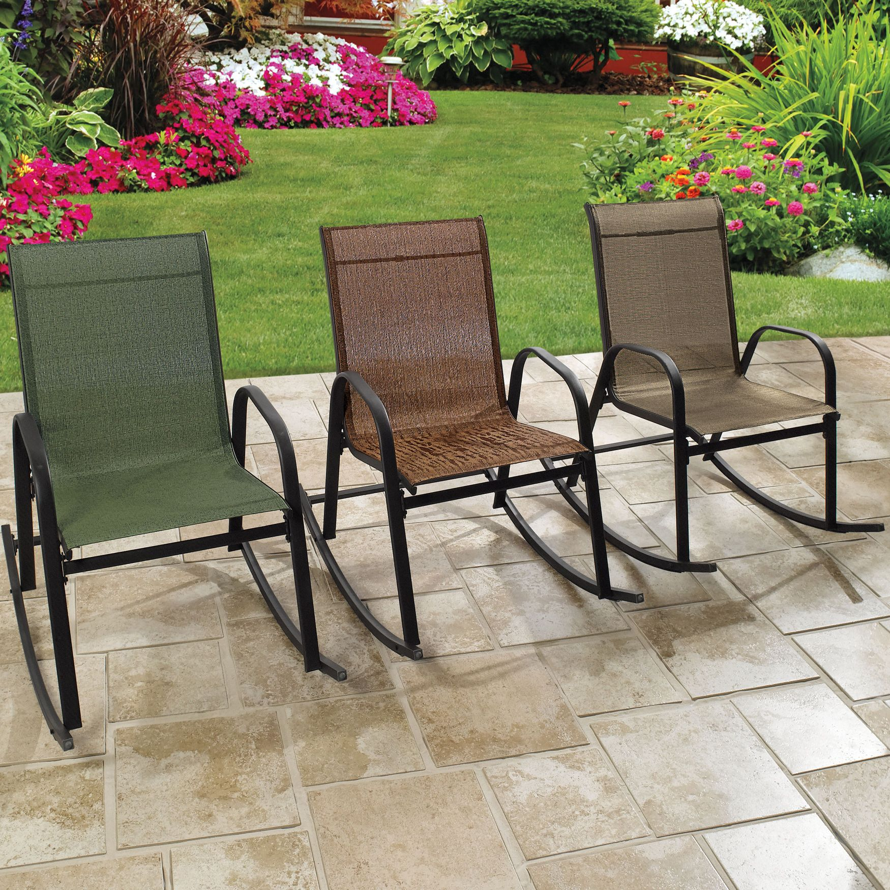 Extra wide outdoor rocking chair patio furniture