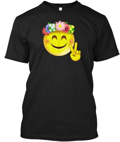 Crown Smiley Pacea Sign Emoji T Shirt Taurus40th BirthdaySmiley