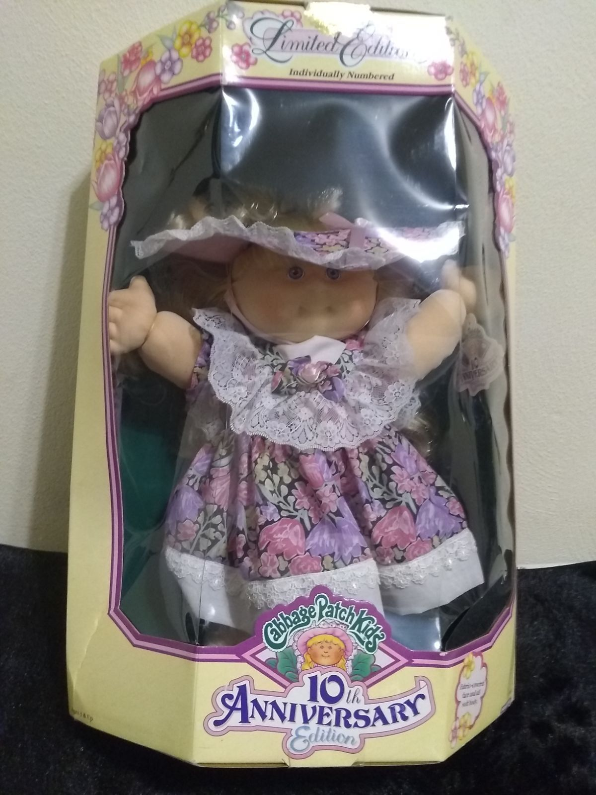 Limited Edition Individually Number Cabbage Patch Kids 10th Anniversary Edition Zora Mae Brand New Cabbage Patch Kids Cabbage Patch Kids Dolls Cabbage Patch