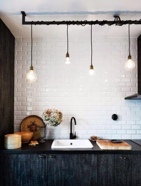azulejo+blanco kitchen Pinterest Azulejos blancos, Decoracion