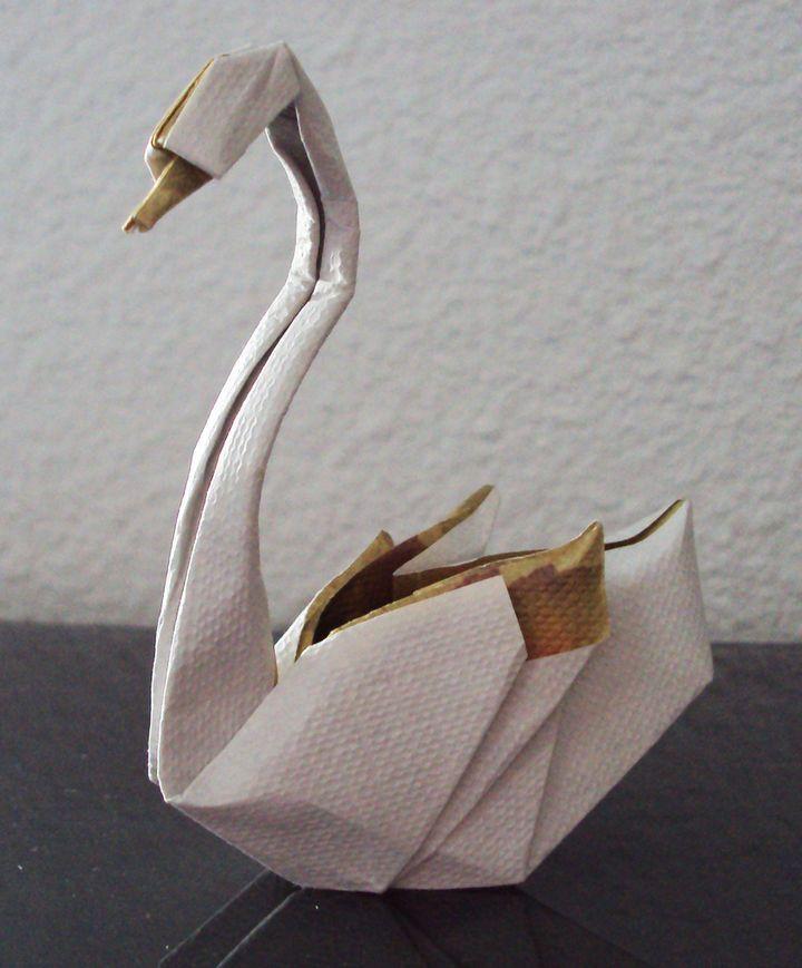Origami swan!