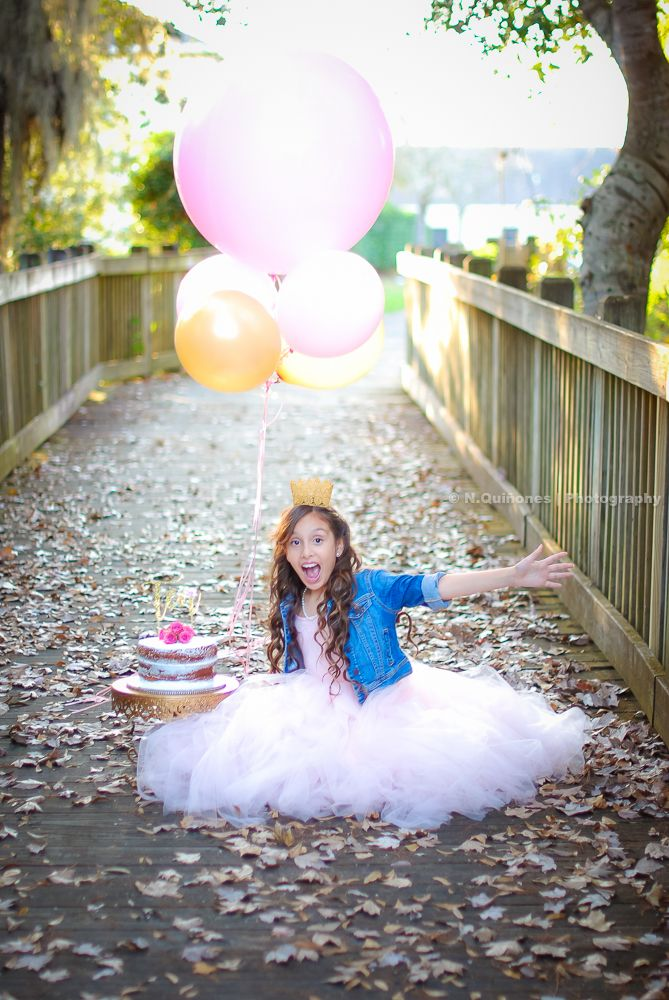 Central Florida Birthday Photoshoot Taken By N Quinonesphotography On Instagram 10year Old Photo Birthday Photoshoot Girl Photo Shoots Birthday Girl Pictures