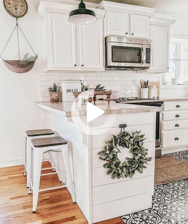 Ashlyn Bar Sgabello Alto Farmhouse Kitchen Design Kitchen Renovation Kitchen Redo