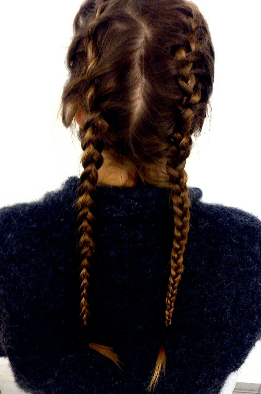 Braid french ponytail tumblr
