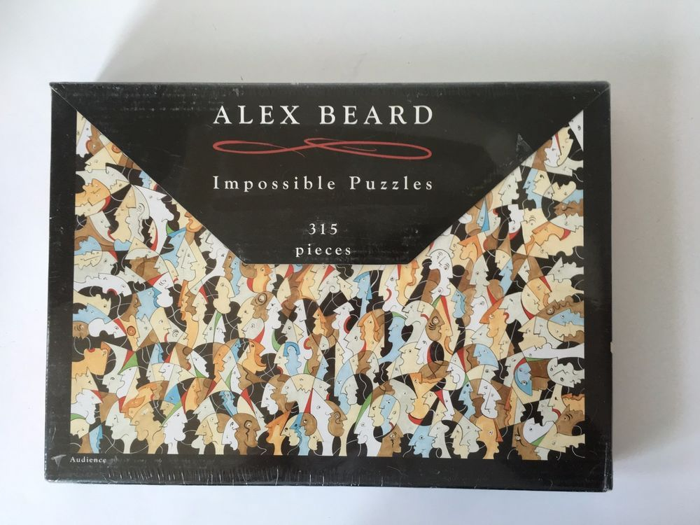 ALEX BEARD Impossible Puzzles Audience 315 Pieces #AlexBeard