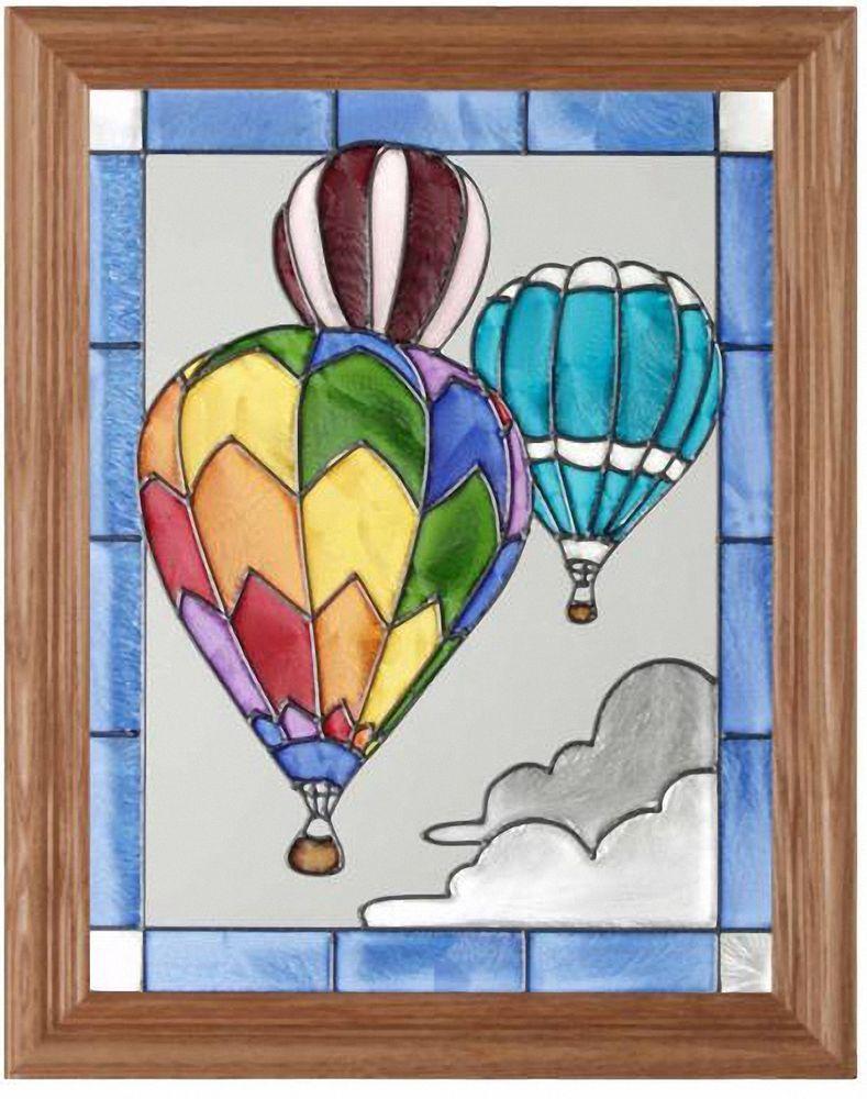 Sport Hot Air Balloon 135 X 165 Silver Creek Suncatcher