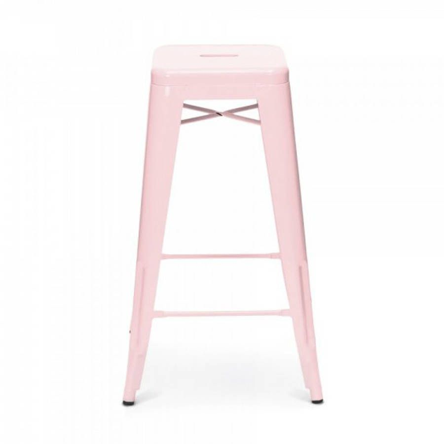 blush pink bar stools - Google Search | A Glam Living space ...