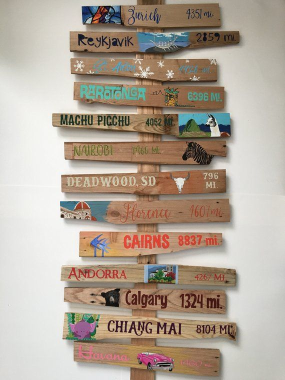 Personalised Vintage Arrow Shaped sign Arrow Direction Sign Wedding Sign 60cm