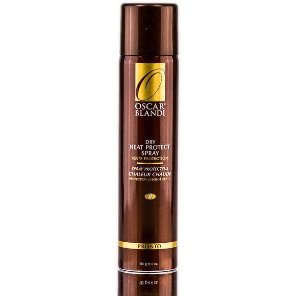 Oscar Blandi Pronto Heat Protect Spray 4 oz (€17) ❤ liked on Polyvore featuring beauty products, haircare, styling products y oscar blandi